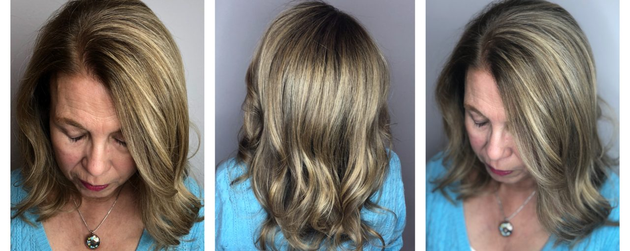 Full Color Highlights and Haircut